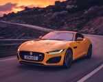 2021 Jaguar F-TYPE R Coupe AWD (Color: Sorrento Yellow) Front Three-Quarter Wallpapers 150x120 (10)
