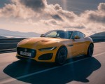 2021 Jaguar F-TYPE R Coupe AWD (Color: Sorrento Yellow) Front Three-Quarter Wallpapers 150x120 (12)