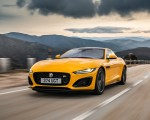 2021 Jaguar F-TYPE R Coupe AWD (Color: Sorrento Yellow) Front Three-Quarter Wallpapers 150x120 (1)