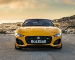 2021 Jaguar F-TYPE R Coupe AWD (Color: Sorrento Yellow) Front Wallpapers 150x120 (22)