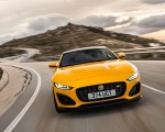 2021 Jaguar F-TYPE R Coupe AWD (Color: Sorrento Yellow) Front Wallpapers 150x120 (3)