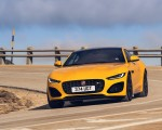 2021 Jaguar F-TYPE R Coupe AWD (Color: Sorrento Yellow) Front Wallpapers 150x120 (4)
