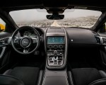 2021 Jaguar F-TYPE R Coupe AWD (Color: Sorrento Yellow) Interior Cockpit Wallpapers 150x120 (35)