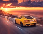 2021 Jaguar F-TYPE R Coupe AWD (Color: Sorrento Yellow) Rear Three-Quarter Wallpapers 150x120 (15)