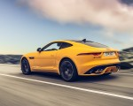 2021 Jaguar F-TYPE R Coupe AWD (Color: Sorrento Yellow) Rear Three-Quarter Wallpapers 150x120 (5)