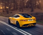 2021 Jaguar F-TYPE R Coupe AWD (Color: Sorrento Yellow) Rear Three-Quarter Wallpapers 150x120 (16)