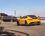 2021 Jaguar F-TYPE R Coupe AWD (Color: Sorrento Yellow) Rear Three-Quarter Wallpapers 150x120 (6)