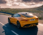 2021 Jaguar F-TYPE R Coupe AWD (Color: Sorrento Yellow) Rear Three-Quarter Wallpapers 150x120 (17)