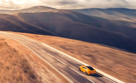 2021 Jaguar F-TYPE R Coupe AWD (Color: Sorrento Yellow) Rear Three-Quarter Wallpapers 450x275 (18)