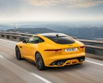 2021 Jaguar F-TYPE R Coupe AWD (Color: Sorrento Yellow) Rear Three-Quarter Wallpapers 150x120 (7)