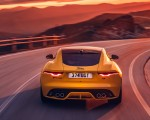 2021 Jaguar F-TYPE R Coupe AWD (Color: Sorrento Yellow) Rear Wallpapers 150x120 (19)