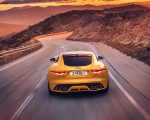 2021 Jaguar F-TYPE R Coupe AWD (Color: Sorrento Yellow) Rear Wallpapers 150x120 (8)