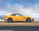 2021 Jaguar F-TYPE R Coupe AWD (Color: Sorrento Yellow) Side Wallpapers 150x120 (26)