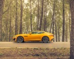 2021 Jaguar F-TYPE R Coupe AWD (Color: Sorrento Yellow) Side Wallpapers 150x120 (25)