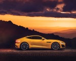2021 Jaguar F-TYPE R Coupe AWD (Color: Sorrento Yellow) Side Wallpapers 150x120 (20)