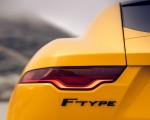 2021 Jaguar F-TYPE R Coupe AWD (Color: Sorrento Yellow) Tail Light Wallpapers 150x120 (28)