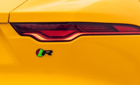 2021 Jaguar F-TYPE R Coupe AWD (Color: Sorrento Yellow) Tail Light Wallpapers 450x275 (29)