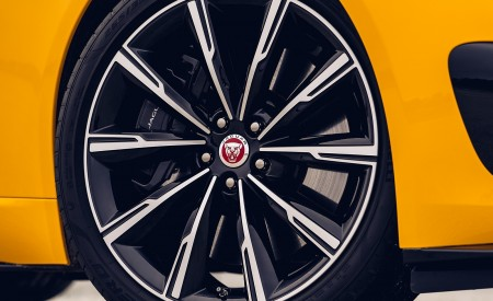 2021 Jaguar F-TYPE R Coupe AWD (Color: Sorrento Yellow) Wheel Wallpapers 450x275 (27)