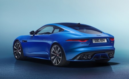 2021 Jaguar F-TYPE Rear Three-Quarter Wallpapers 450x275 (18)