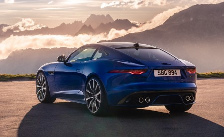 2021 Jaguar F-TYPE Rear Three-Quarter Wallpapers 450x275 (10)