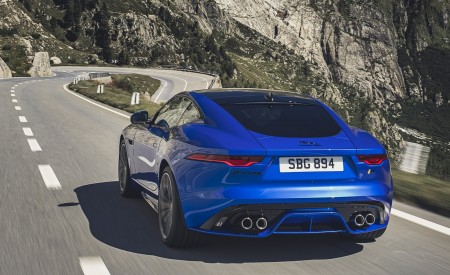 2021 Jaguar F-TYPE Rear Wallpapers 450x275 (4)