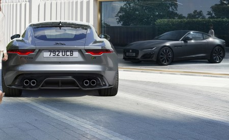 2021 Jaguar F-TYPE Rear Wallpapers 450x275 (13)
