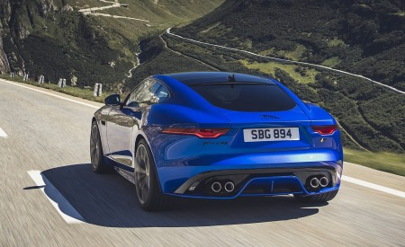 2021 Jaguar F-TYPE Rear Wallpapers 450x275 (5)