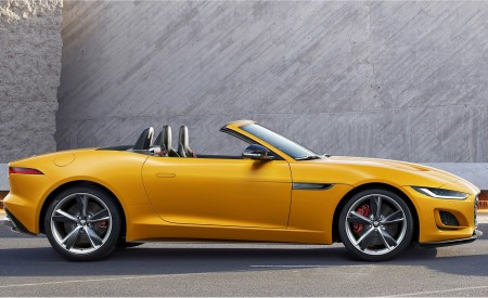 2021 Jaguar F-TYPE Side Wallpapers 450x275 (12)