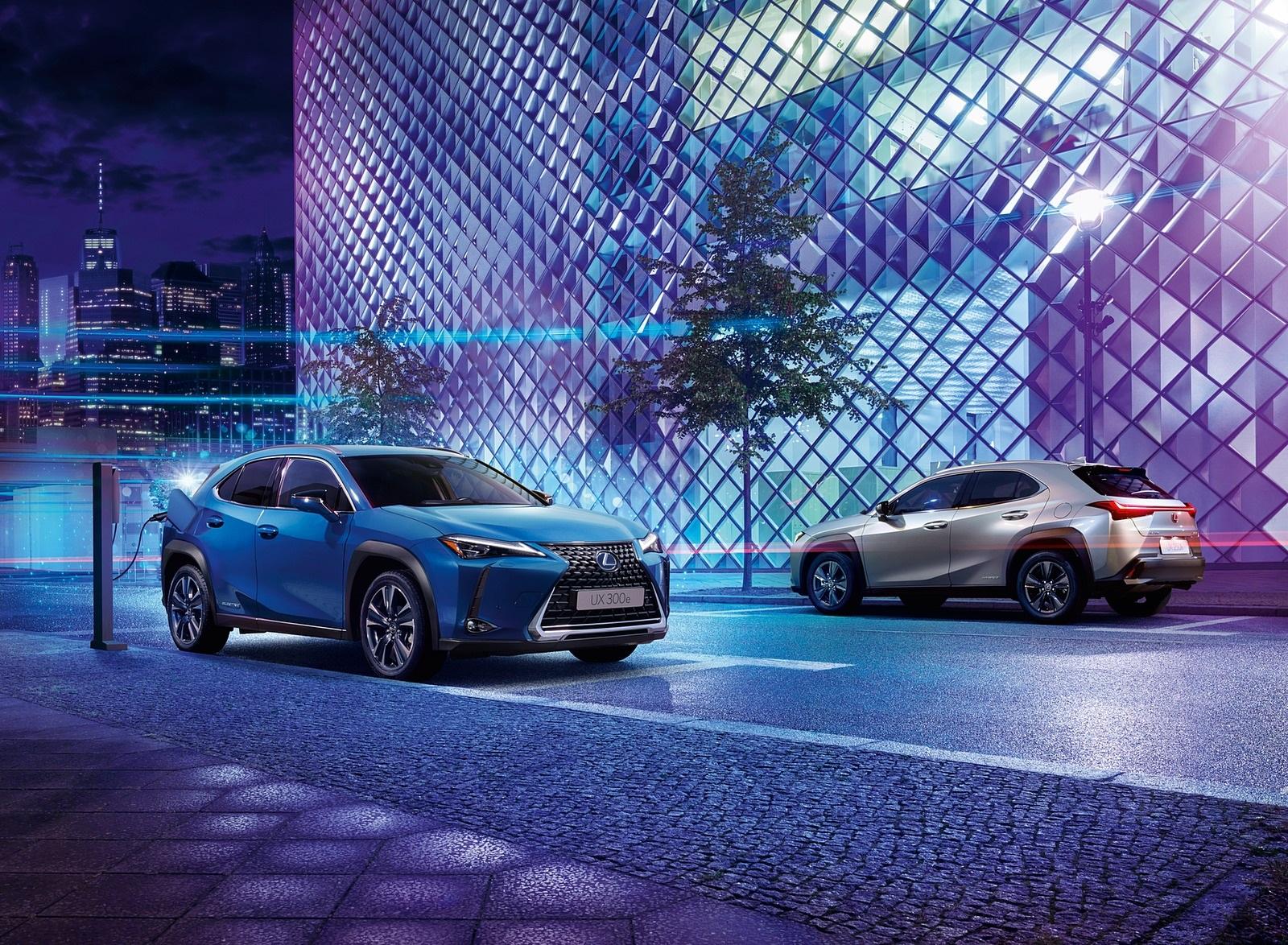 2021 Lexus UX 300e EV (EU-Spec) Front Three-Quarter Wallpapers (3)
