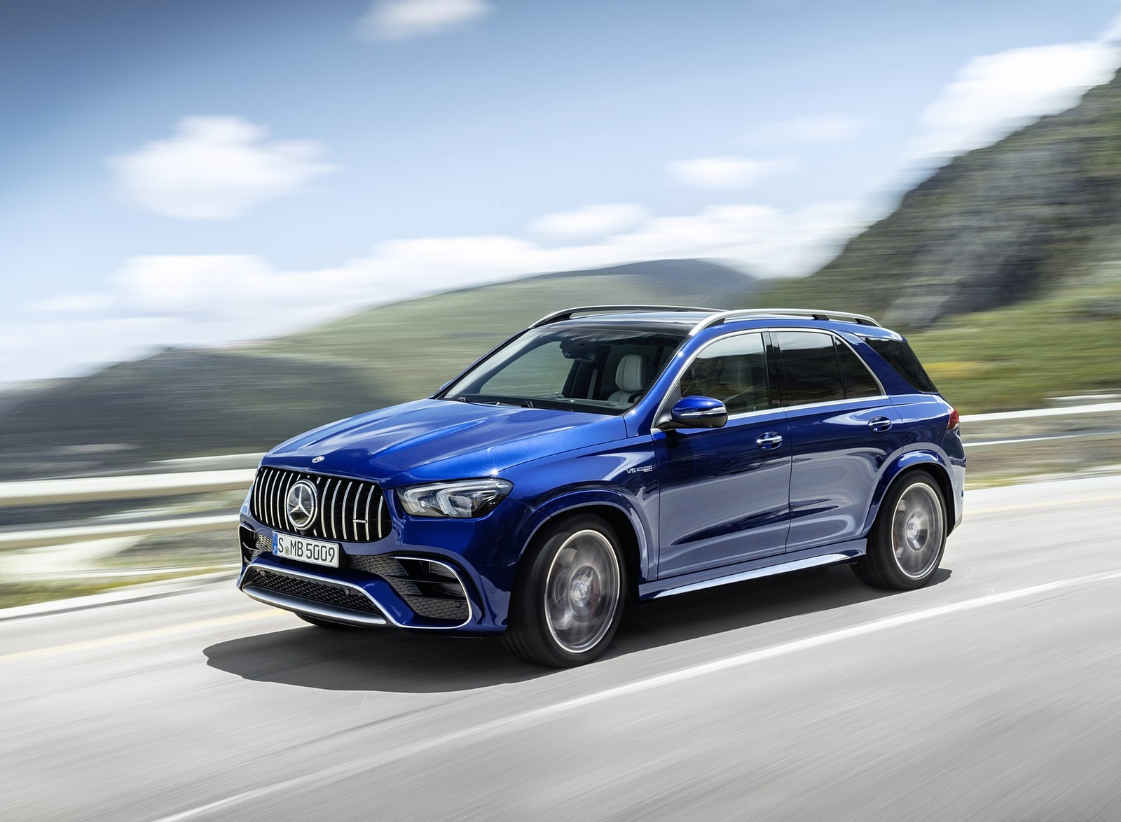 2021 Mercedes-AMG GLE 63 S 4MATIC Front Three-Quarter Wallpapers (2)