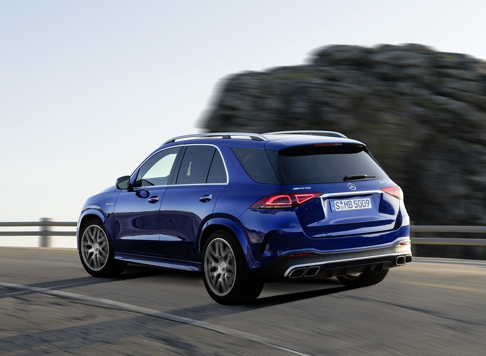 2021 Mercedes-AMG GLE 63 S 4MATIC Rear Three-Quarter Wallpapers (9)