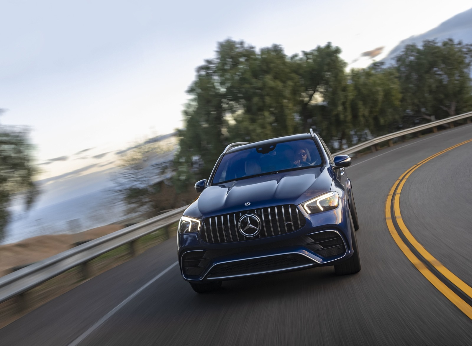 2021 Mercedes-AMG GLE 63 S (US-Spec) Front Wallpapers (1)