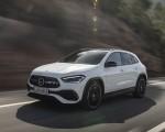2021 Mercedes-Benz GLA 250 (Color: Digital White) Front Three-Quarter Wallpapers 150x120 (3)