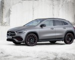 2021 Mercedes-Benz GLA Edition1 AMG Line (Color: Mountain Grey MAGNO) Front Three-Quarter Wallpapers 150x120 (15)
