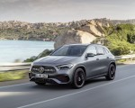2021 Mercedes-Benz GLA Edition1 AMG Line (Color: Mountain Grey MAGNO) Front Three-Quarter Wallpapers 150x120 (2)