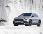 2021 Mercedes-Benz GLA Edition1 AMG Line (Color: Mountain Grey MAGNO) Front Three-Quarter Wallpapers 150x120 (13)