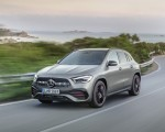 2021 Mercedes-Benz GLA Edition1 AMG Line (Color: Mountain Grey MAGNO) Front Three-Quarter Wallpapers 150x120 (1)