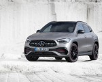 2021 Mercedes-Benz GLA Edition1 AMG Line (Color: Mountain Grey MAGNO) Front Three-Quarter Wallpapers 150x120 (14)