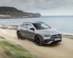 2021 Mercedes-Benz GLA Edition1 AMG Line (Color: Mountain Grey MAGNO) Front Three-Quarter Wallpapers 150x120 (3)