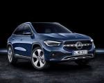2021 Mercedes-Benz GLA Edition1 Progressive Line (Color: Galaxy Blue) Front Three-Quarter Wallpapers 150x120 (35)