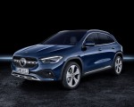 2021 Mercedes-Benz GLA Edition1 Progressive Line (Color: Galaxy Blue) Front Three-Quarter Wallpapers 150x120 (34)