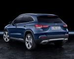 2021 Mercedes-Benz GLA Edition1 Progressive Line (Color: Galaxy Blue) Rear Three-Quarter Wallpapers 150x120 (36)