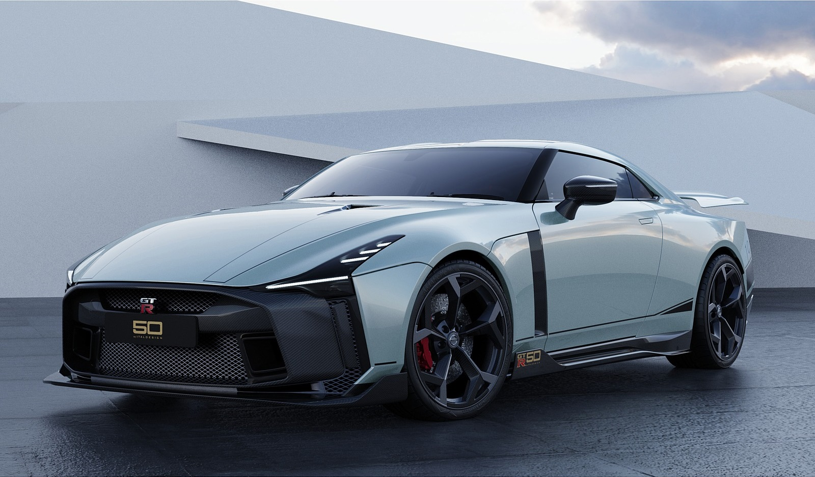 2021 Nissan GT-R50 by Italdesign Front Three-Quarter Wallpapers (8)