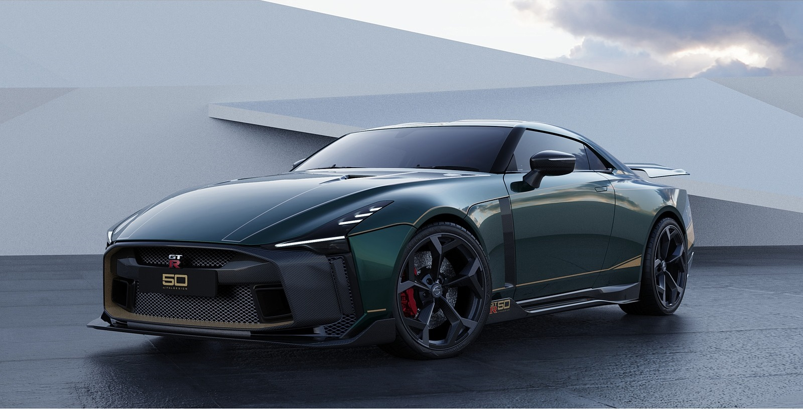 2021 Nissan GT-R50 by Italdesign Front Three-Quarter Wallpapers (3)