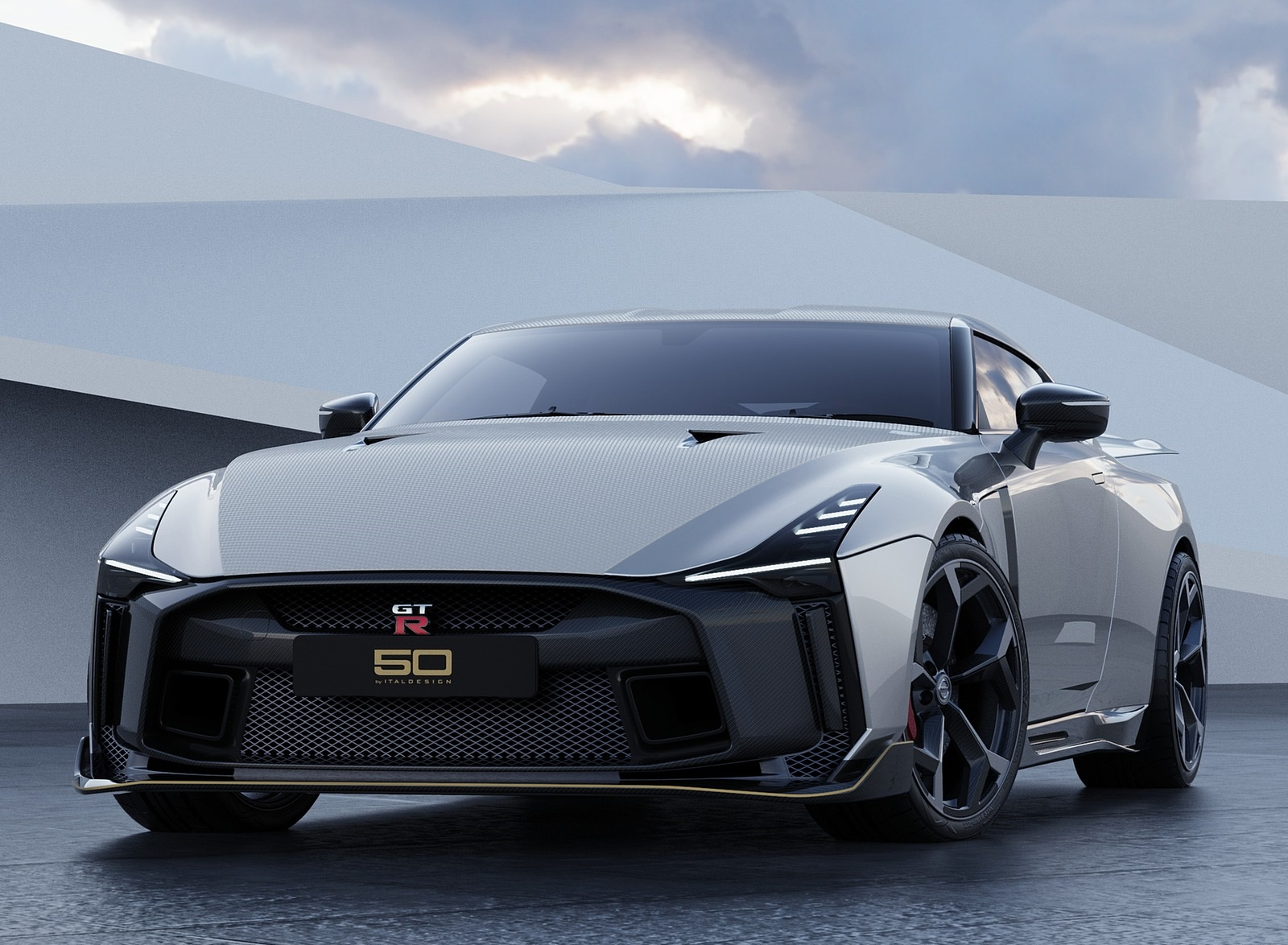 2021 Nissan GT-R50 by Italdesign Front Wallpapers (6)