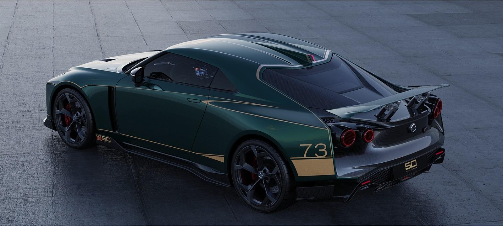 2021 Nissan GT-R50 by Italdesign Rear Three-Quarter Wallpapers (4)