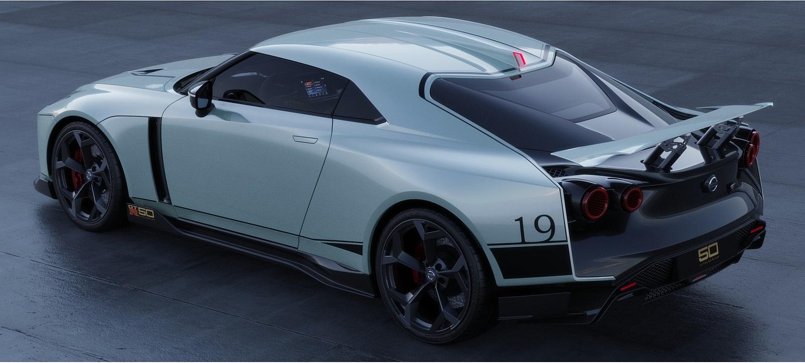 2021 Nissan GT-R50 by Italdesign Rear Three-Quarter Wallpapers (9)