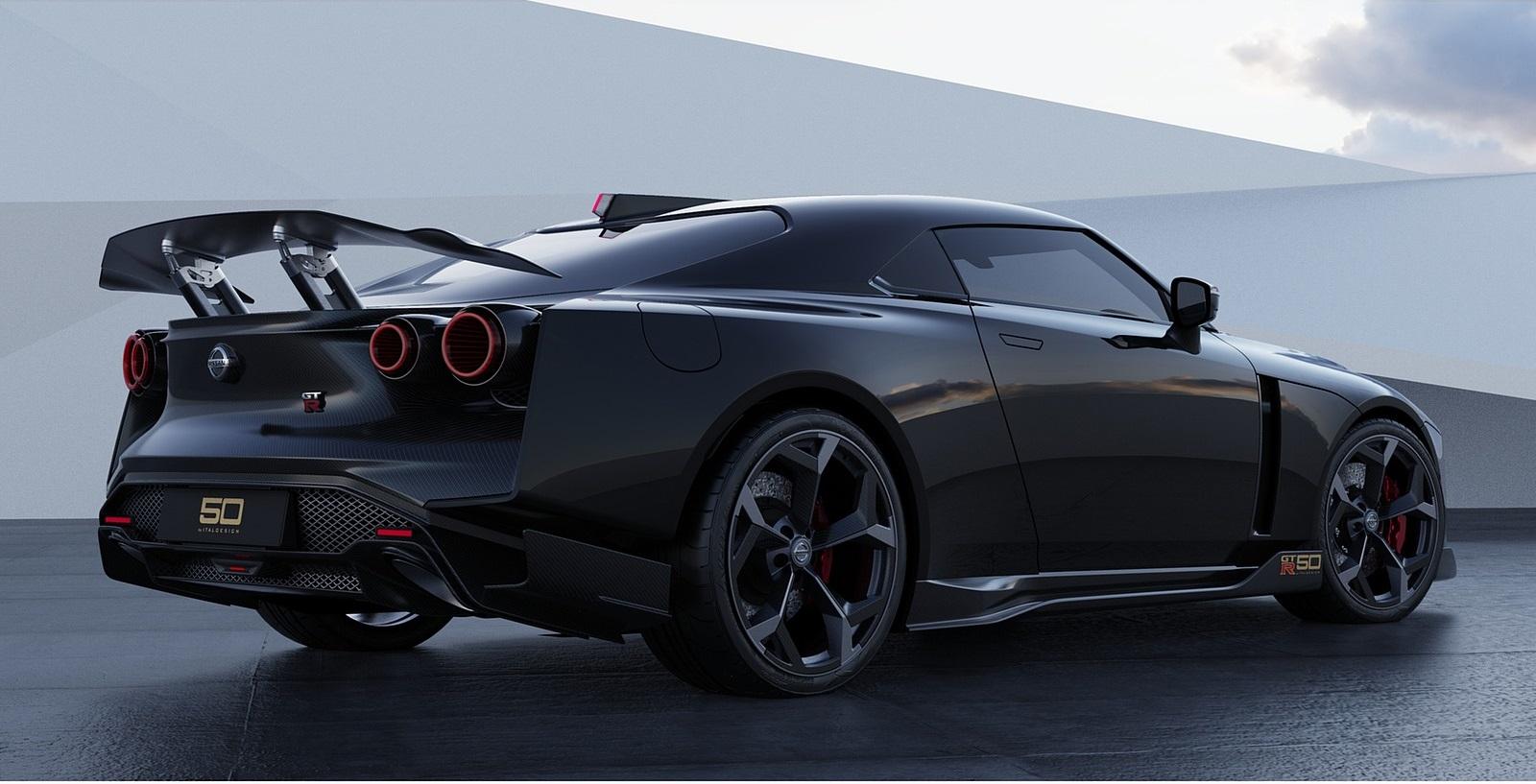 2021 Nissan GT-R50 by Italdesign Rear Three-Quarter Wallpapers (5)