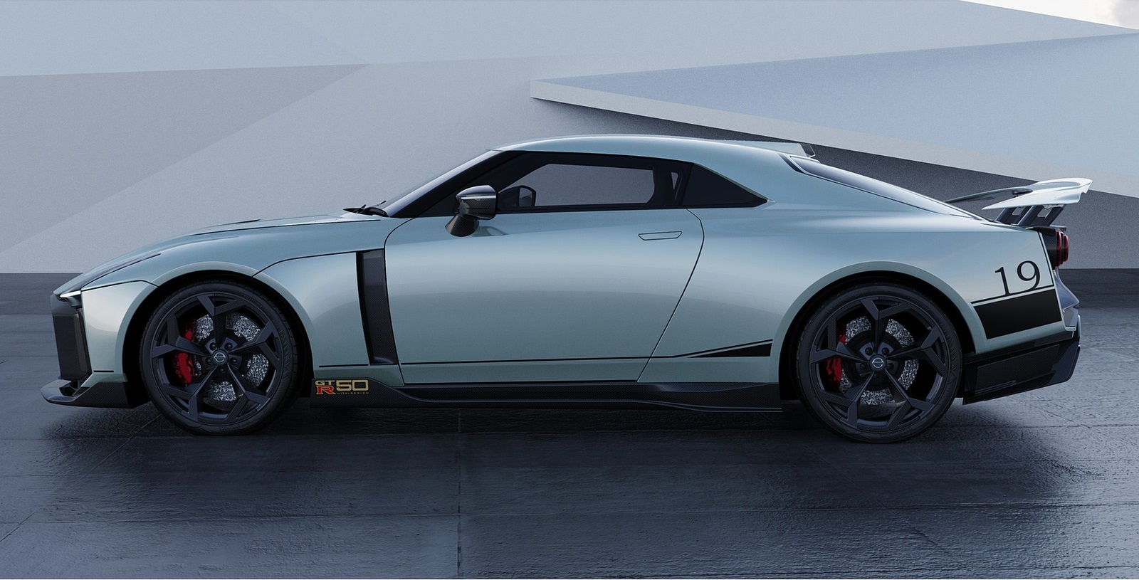 2021 Nissan GT-R50 by Italdesign Side Wallpapers (10)