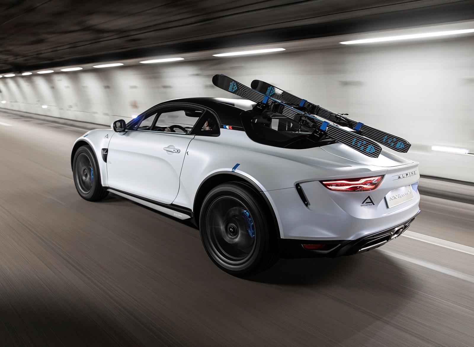 2020 Alpine A110 SportsX Concept Rear Three-Quarter Wallpapers (2)